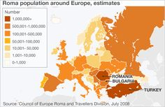 Roma in Europe - graphic