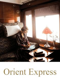 Composing a letter on the Orient Express. http://www.amberstravel.com