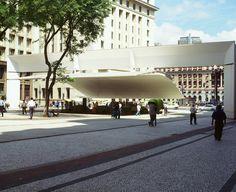 Paulo Mendes da Rocha | The Pritzker Architecture Prize - Patriarch Plaza and Viaduct do Cha, São Paulo, Brazil, 1992