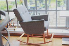 Super pomysł - fotel bujany i jaki design!
