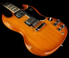 Gibson SG Standard Electric Guitar Natural Burst