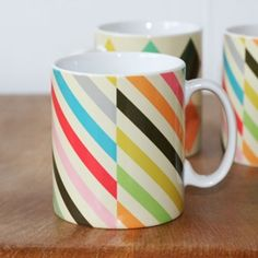 mugs by Petra Boase ~ via Our Shop