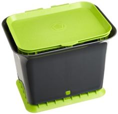 Amazon.com: Full Circle FC11301-GS Green Slate Fresh Air Kitchen Compost Collector: Home & Kitchen