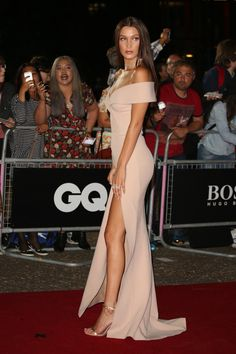 Image result for bella hadid gq awards dress