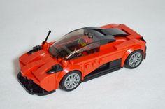 Pagani Huayra Lego