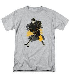 Bruins T-Shirt featuring the photograph Boston Bruins Player Shirt by Joe Hamilton