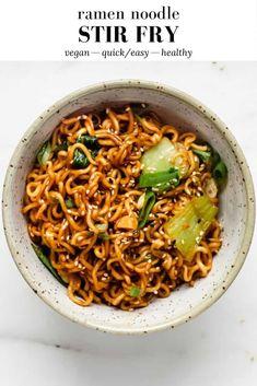 Vegetarian Recipes, Cooking Recipes, Healthy Recipes, Vegetarian Ramen, Healthy Easy Food, Easy Recipes, Whole30 Recipes, Healthy Chicken, Cooking Ideas