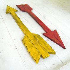 Signe de flèche en bois indiquant la Direction de façon by SlippinSouthern on Etsy