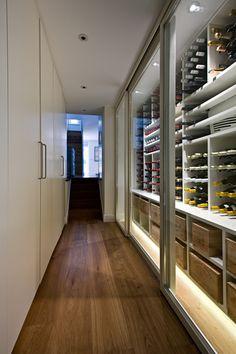 Michaelis Boyd Associates � Elgin Crescent :: Wine Storage