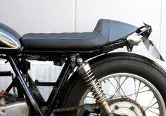 NitroHeads Diagonal Cafe seat Cafe Seating, Scrambler, Yamaha, Motorcycles, Inspiration, Black, Style, Motorbikes, Biblical Inspiration