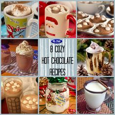 8 Cozy Hot Chocolate Recipes - Grab a mug and cozy up with your favorite book or movie this winter. From drinks to mixes to cupcakes and more, we'll show you our favorite ways to enjoy this chocolate drink.