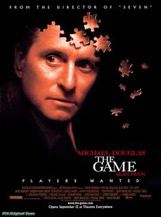 EXCELLENT .... thrill movie | THE GAME - thriller movie posters wallpaper image