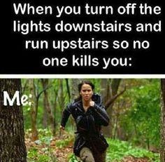 So no one kills you! Lol