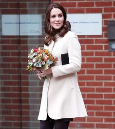 Look familiar? Kate Middleton first wore this $790 blush @GoatFashion coat when she was pregnant with Prince George. She re-wore it today to visit the Hornsey Road Children's Centre in London. via INSTYLE MAGAZINE OFFICIAL INSTAGRAM - Fashion Campaigns  Haute Couture  Advertising  Editorial Photography  Magazine Cover Designs  Supermodels  Runway Models
