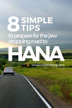 Road to Hana in Maui,Hawaii: 8 Simple Preparation Tips - MapTrotting Hawaii Honeymoon, Hawaii Vacation, Maui Hawaii, Vacation Trips, Hawaii Trips, Hawaii Usa, Vacations, Hawaii Travel Guide, Maui Travel