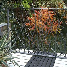 Decorative sculptural railings UK Rose Arbor, Railings, Furniture Making, Interior And Exterior, Objects, Sculpture, Plants, Garden, Decor