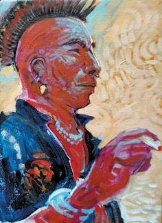 In his ancestror image | Shonto Begay