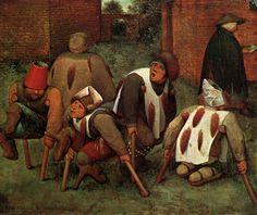 """The Cripples"", 1568, Pieter Bruegel the Elder"