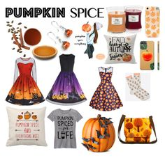 """Pumpkin Edition"" by cici-rahma on Polyvore featuring WoodWick and Improvements"