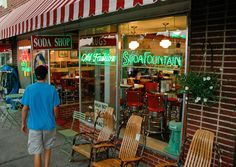 Rocky's is a classic old-time drugstore soda fountain in downtown Brevard, N.C. (Courtesy Christfield/myBudgetTravel) From: Coolest Small Towns in America. Click on the photo to nominate your favorite small town for 2013's contest, now thru Oct. 15th!