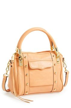 What a peach! Crushing on this cute Rebecca Minkoff crossbody.