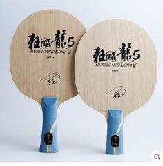Hurricane Larga Mesa De Ping Pong mesa de ping pong raqueta de ping-pong raqueta murciélagos de tenis de mesa terminados FL mango largo shakehand raqueta