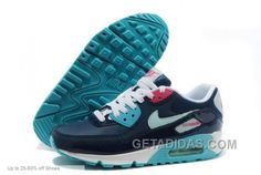 http://www.getadidas.com/nike-women-air-max-90-brave-blue-pink-running-shoes-discount.html NIKE WOMEN AIR MAX 90 BRAVE BLUE PINK RUNNING SHOES DISCOUNT Only $72.00 , Free Shipping!