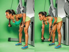 Reshape your upper body and get toned pecs with this 90-DEGREE CABLE CHEST PRESS Works: chest, core