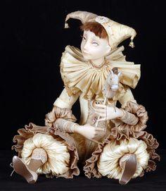 Tamara Pivnyuk Art Dolls / Dolls / Другой Арлекин