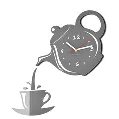 Wall Clock JUG & CUP by Flexistyle
