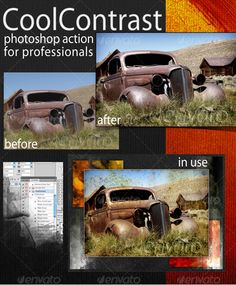Buy CoolContrast Photoshop Action by on GraphicRiver. This Photoshop Action is a result of my long term friendship with Scott Sprague, professional fashion photographer.