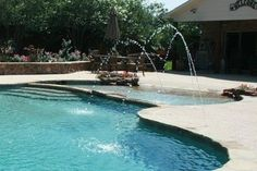 Pool Deck Jets  swimming pools and spas