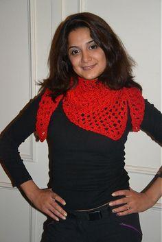 Fira / Rucne pleteny cerveny satek