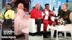 """Jennifer Hudson plays a game of """"Jennifer's Jingles and Jams."""" Dwayne """"The Rock"""" Johnson on running for president and if Kevin Hart will be his running mate. Rock Johnson, Dwayne Johnson, Youtube Original, The Ellen Show, Dwayne The Rock, Jennifer Hudson, Kevin Hart, Running For President, Gwen Stefani"""