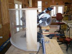 Sliding Miter Saw Dust Collection