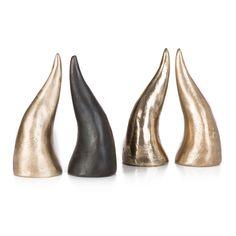 bronze horn
