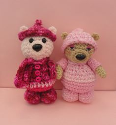 Amigurumi Bear Friends