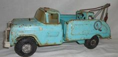 Vintage c 1960s Buddy L Wrecker Tow Truck
