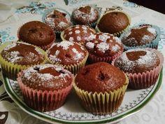 Muffinki piernikowe z nadzieniem Cupcakes, Cook, Breakfast, Recipes, Morning Coffee, Cupcake Cakes, Recipies, Ripped Recipes, Cooking Recipes