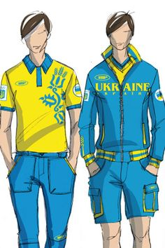 Ukraine Olympic 2012 Uniforms