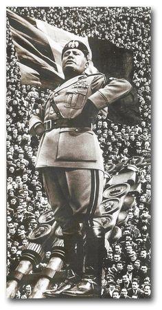 WWII Mussolini Propaganda Posters | Benito Mussolini - Il ...