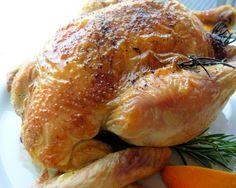 "Roast Chicken With Grand Marnier Glaze: ""This bird was utterly fantastic! We loved this for Sunday dinner."" –Kittencalskitchen"