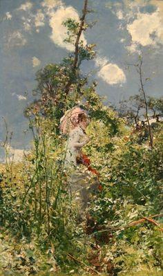 Giovanni Boldini (Italian artist, 1842-1931) Woman With A Parasol 1872 ۩۞۩۞۩۞۩۞۩۞۩۞۩۞۩۞۩ Gaby Féerie créateur de bijoux à thèmes en modèle unique ; sa.boutique.➜ http://www.alittlemarket.com/boutique/gaby_feerie-132444.html ۩۞۩۞۩۞۩۞۩۞۩۞۩۞۩۞۩