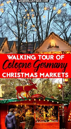 Free Walking Tour of the Cologne Christmas Markets with Map! - Traveling to Cologne Germany for German Christmas Markets? A self guided walking tour of Cologne Ch - Cologne Christmas Market, Christmas Markets Germany, German Christmas Markets, Christmas Markets Europe, Christmas Travel, Christmas Holidays, Christmas Vacation, Holiday Travel, Dusseldorf Christmas Market