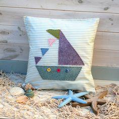 Sailboat Cushion – Sewing Kit