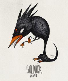 Si les Pokemon avaient été dessinés par Tim Burton