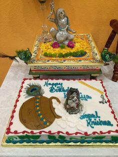 Janmashtami 2015. Mirabai and Eggless cake.