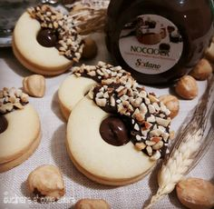 Biscotti Cookies, Biscotti Recipe, Yummy Cookies, Cake Cookies, Fancy Desserts, Italian Desserts, Nutella Waffles, Cookie Recipes, Food Cakes