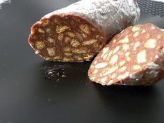 TRASTEANDO EN MI COCINA: SALCHICHÓN DE CHOCOLATE