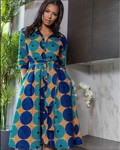 Items similar to african dresses ankara dresses summer dresses winter dresses fall dresses african midi dresses shirt dresses prom dresses african women on Etsy Latest Ankara Dresses, Ankara Dress Styles, Ankara Gowns, African Print Dresses, African Dress, African Prints, African Lace, African Style, African Fashion Designers